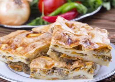 Türk Yemekleri; Tepsi Böreği