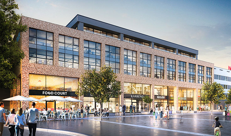 Bottrop: Shopping Center Hansa Center – Coming soon!